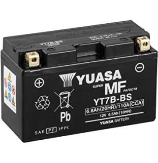 BATTERIA YUASA YT7B-BS