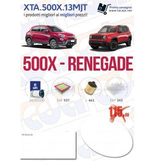 Kit tagliando Fiat 500X...