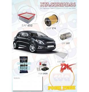 Kit tagliando Opel CORSA D...
