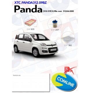 kit tagliando FIAT PANDA...