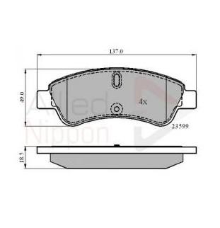 Kit Pastiglie Comline CBP1033