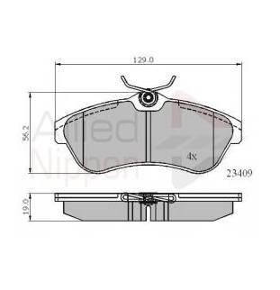 Kit Pastiglie Comline CBP01146