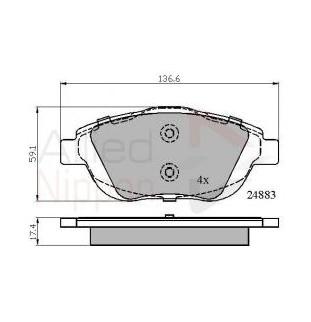 Kit Pastiglie Comline CBP02027
