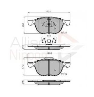 Kit Pastiglie Comline CBP01323